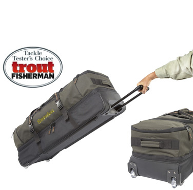 Luggage. Travel luggage, reel cases, fishing bags, dry & wet