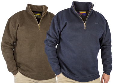 11930 ¼ Zip Country Sweaters