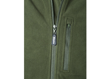 11921 'Breez-Bloc' Fleece Jacket zipped chest pocket detail