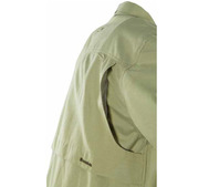 11800 Snowbee Fishing Shirt rear & side mesh-lined shoulder flaps