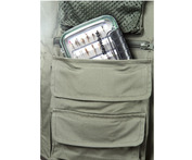 11624 Prestige Long Fly-Fishing Waistcoat pocket