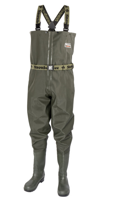 11072-01 Granite PVC Chest Waders