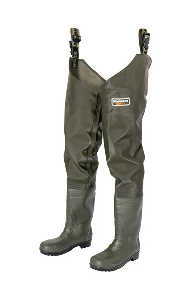 11073-01 Granite PVC Thigh Waders