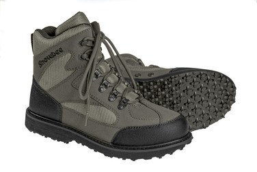 13090-01 River-Trek Wading Boots with rubber sole option
