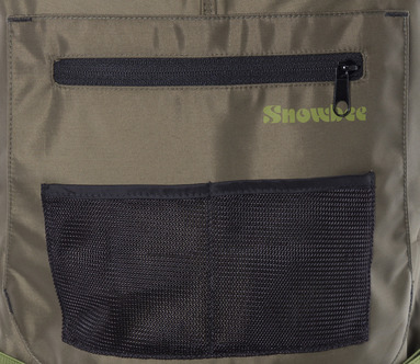 3-in-1 front patch pocket on chest, with hand-warmer pocket behind
