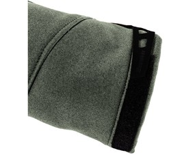 Velcro adjusters on jacket sleeve cuffs