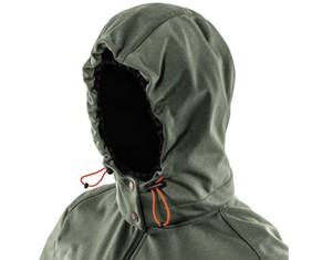 Zip-off, 3-panel, fully adjustable hood