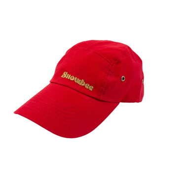 13256 Red 5-Panel Fishing Caps