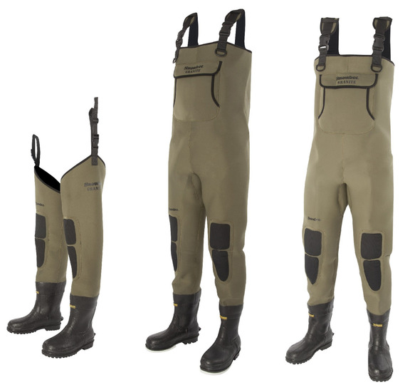 4mm Neoprene Bootfoot Chest Waders