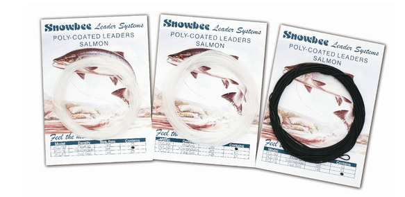 PCLS Poly-Coated Leaders - Salmon/Saltwater