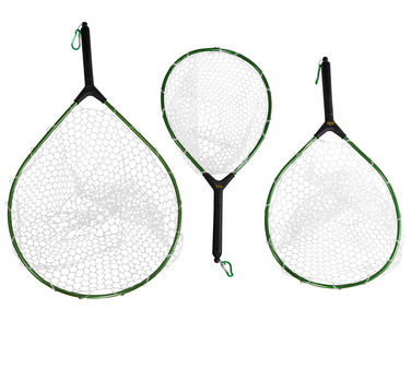 Rubber-Mesh Hand Trout Nets