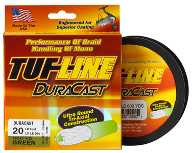 Tuf-Line DuraCast Coated Super-Braid